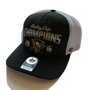 47 Pittsburgh Penguins Hat 2016 Stanley Cup